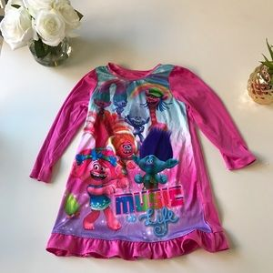 DreamWorks Trolls Long Sleeve Nightgown